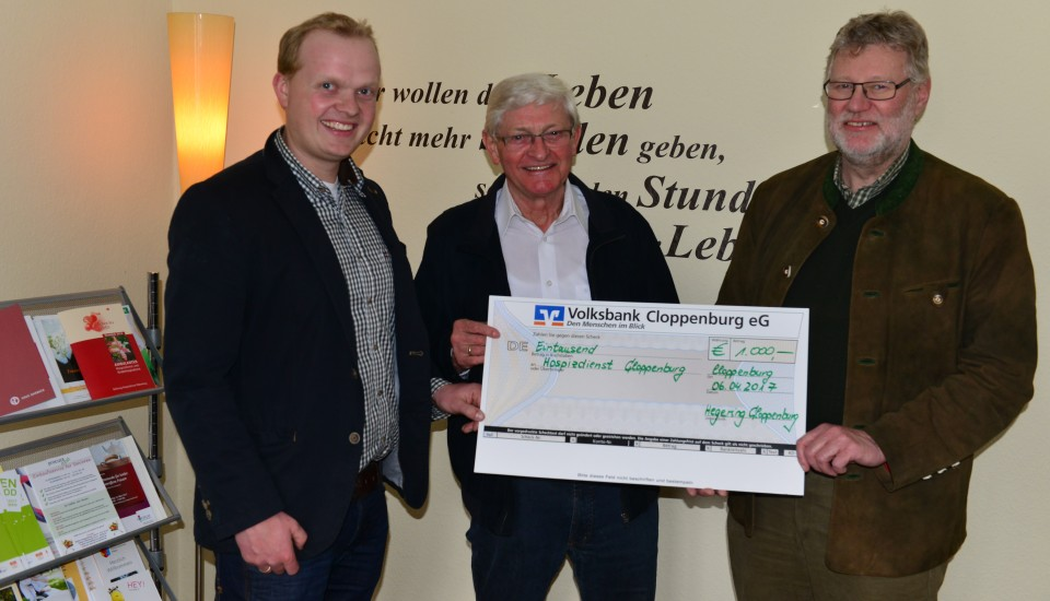 Spende Jäger Bethen 2017